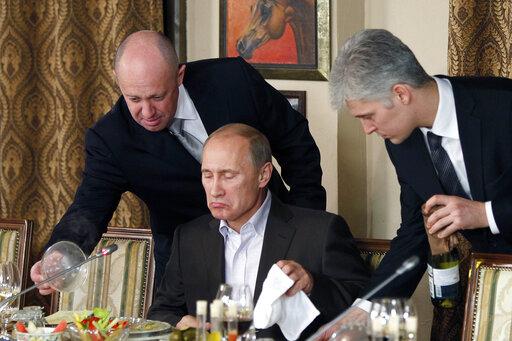 Yevgeny Prigozhin, Vladimir Putin