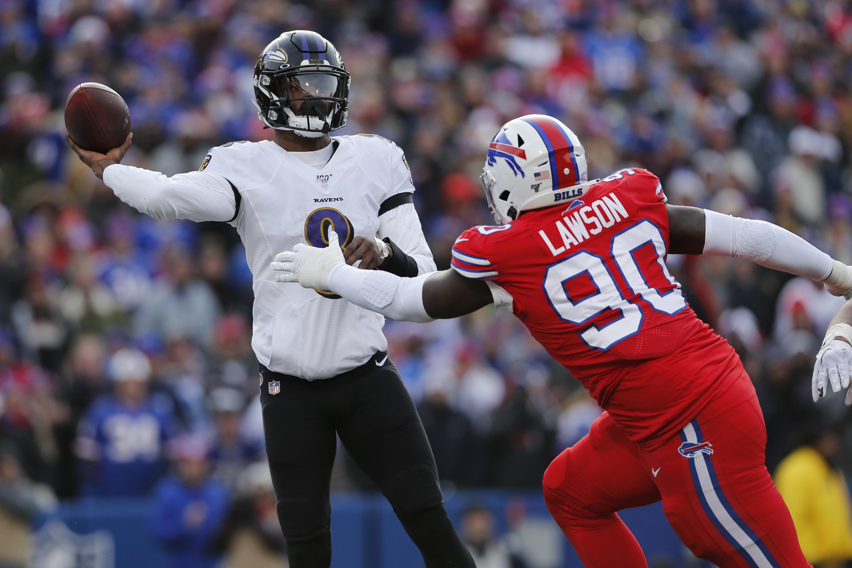Jackson Ravens Hold Off Bills In 24 17 Win News 4 Buffalo