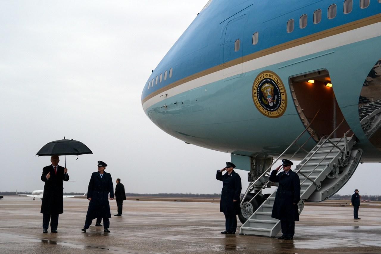 trump seeks big increase in career
