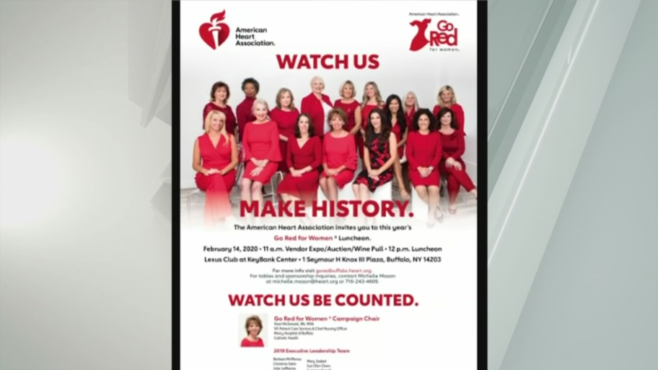 go red for women  wear red day is friday raising awareness