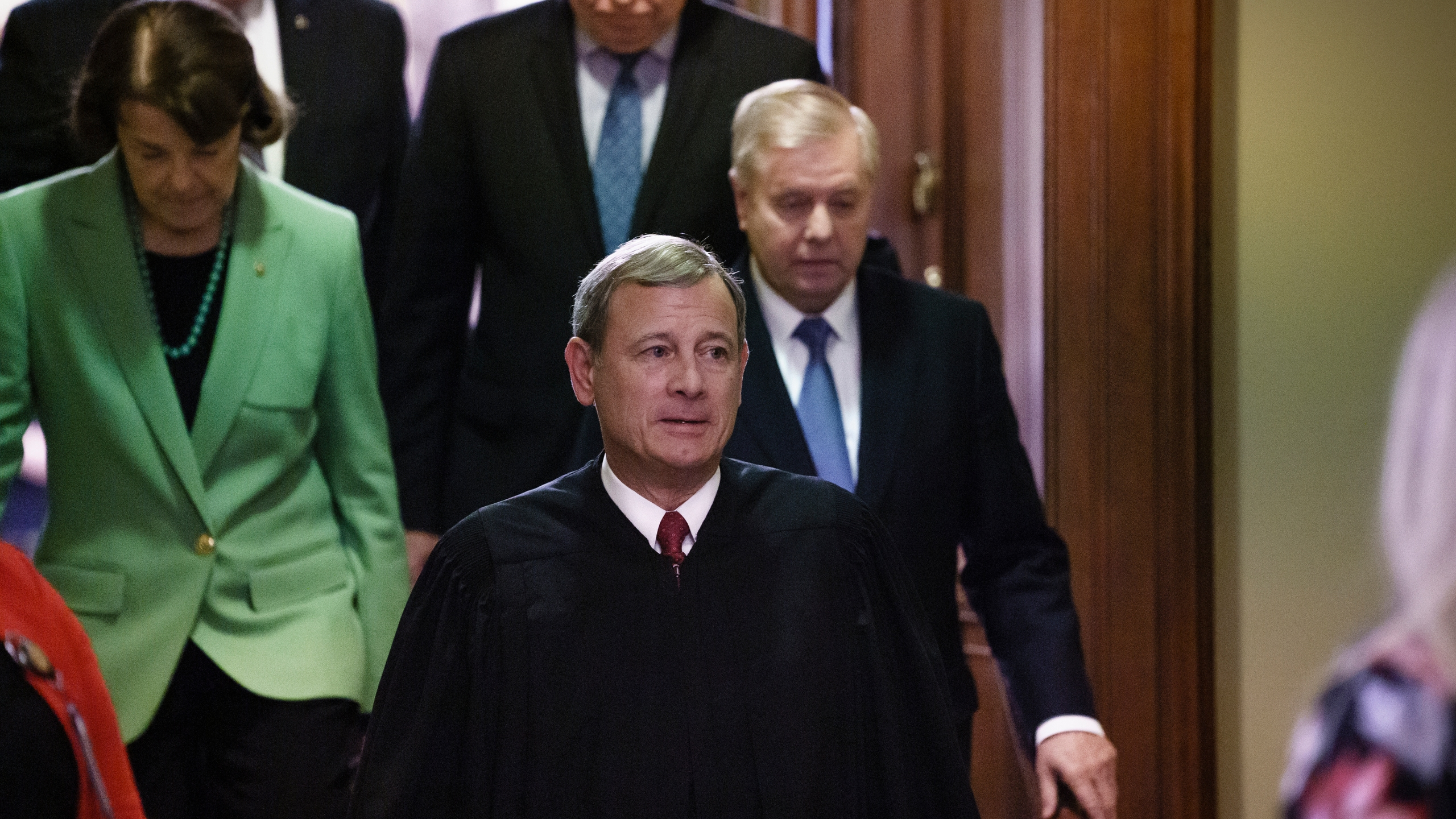 John Roberts, Dianne Feinstein, Lindsey Graham