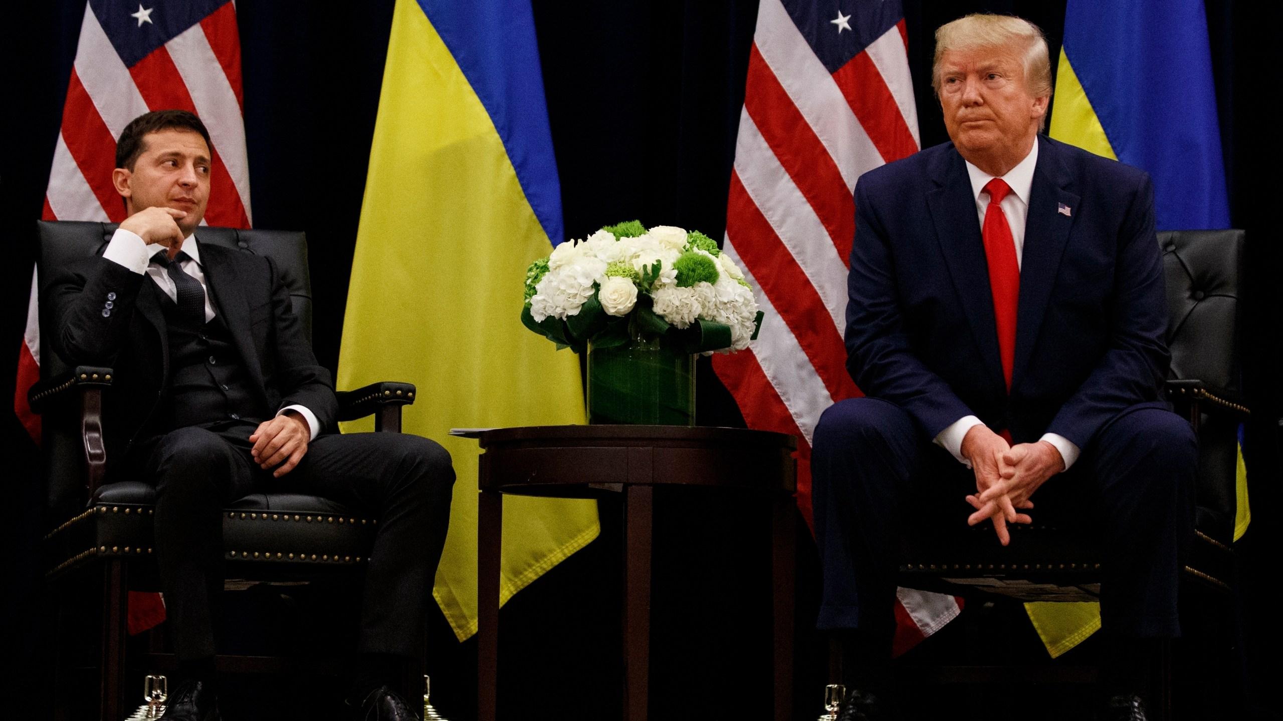 Donald Trump, Volodymyr Zelenskiy
