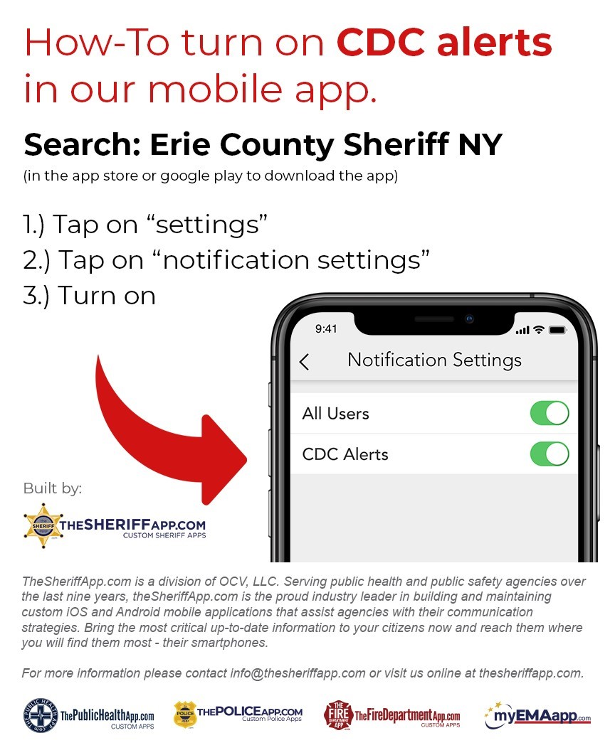 erie county sheriff u2019s office offering covid