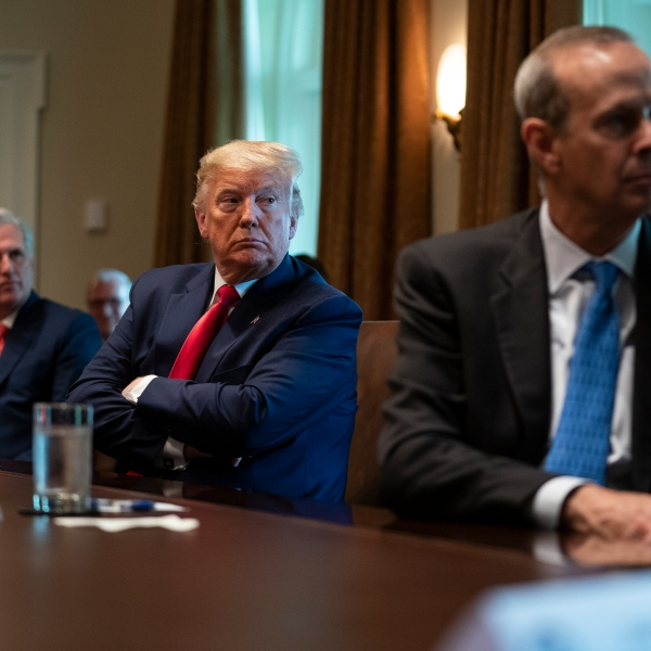 Donald Trump, Kevin McCarthy, Mike Wirth