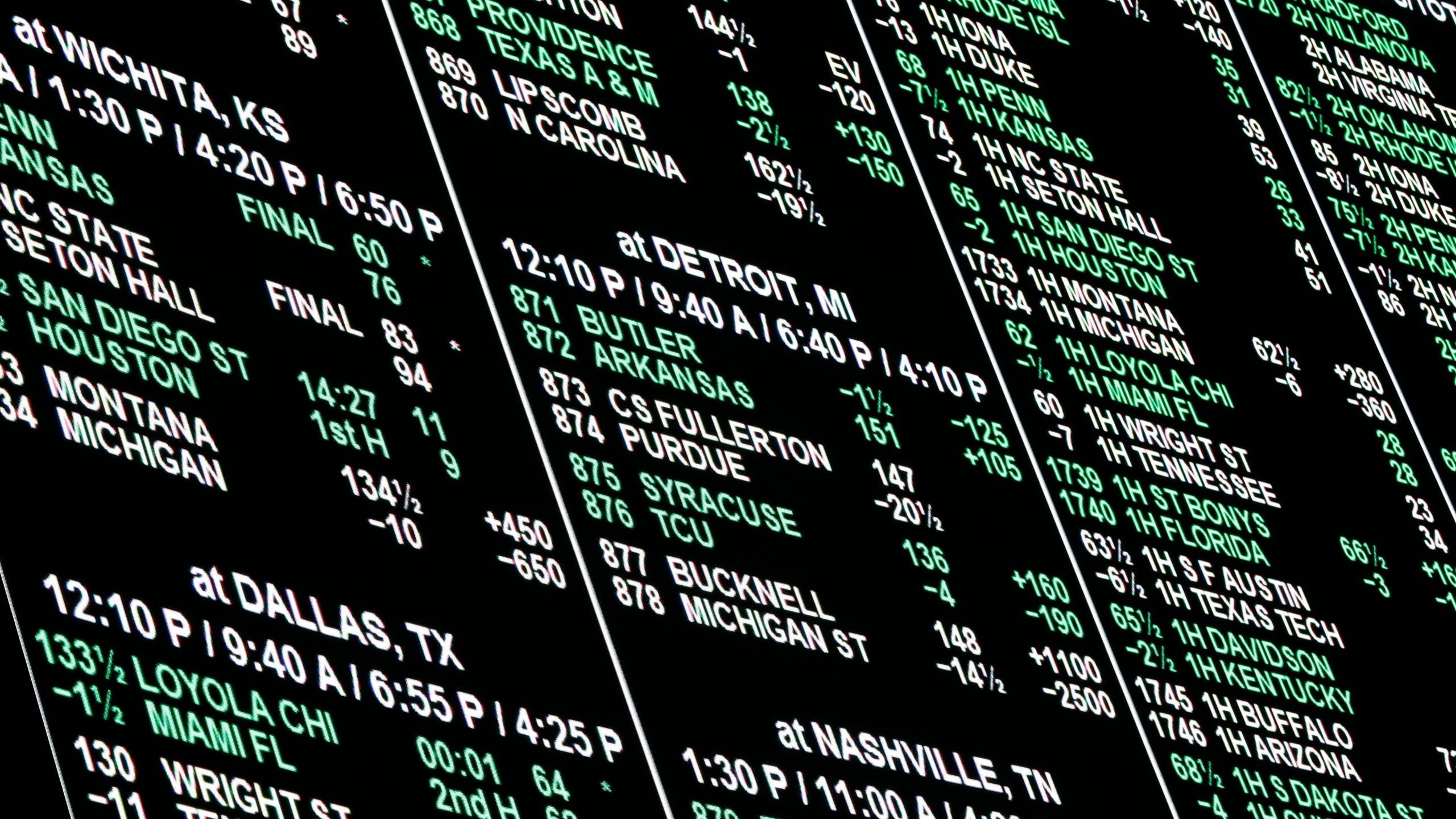 Ncaa betting line las vegas pot limit omaha pre flop betting chart