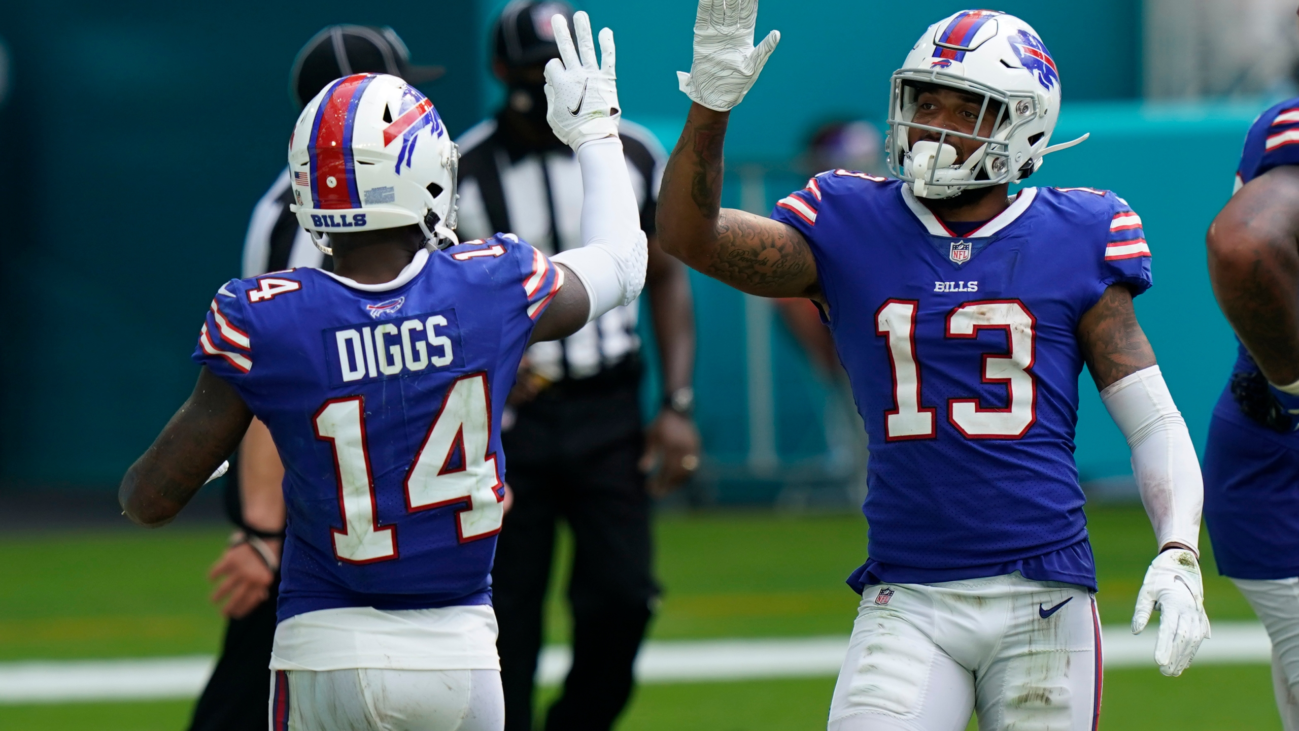 Two Bills Rookies Score Their First Nfl Touchdowns In Win Over Miami News 4 Buffalo