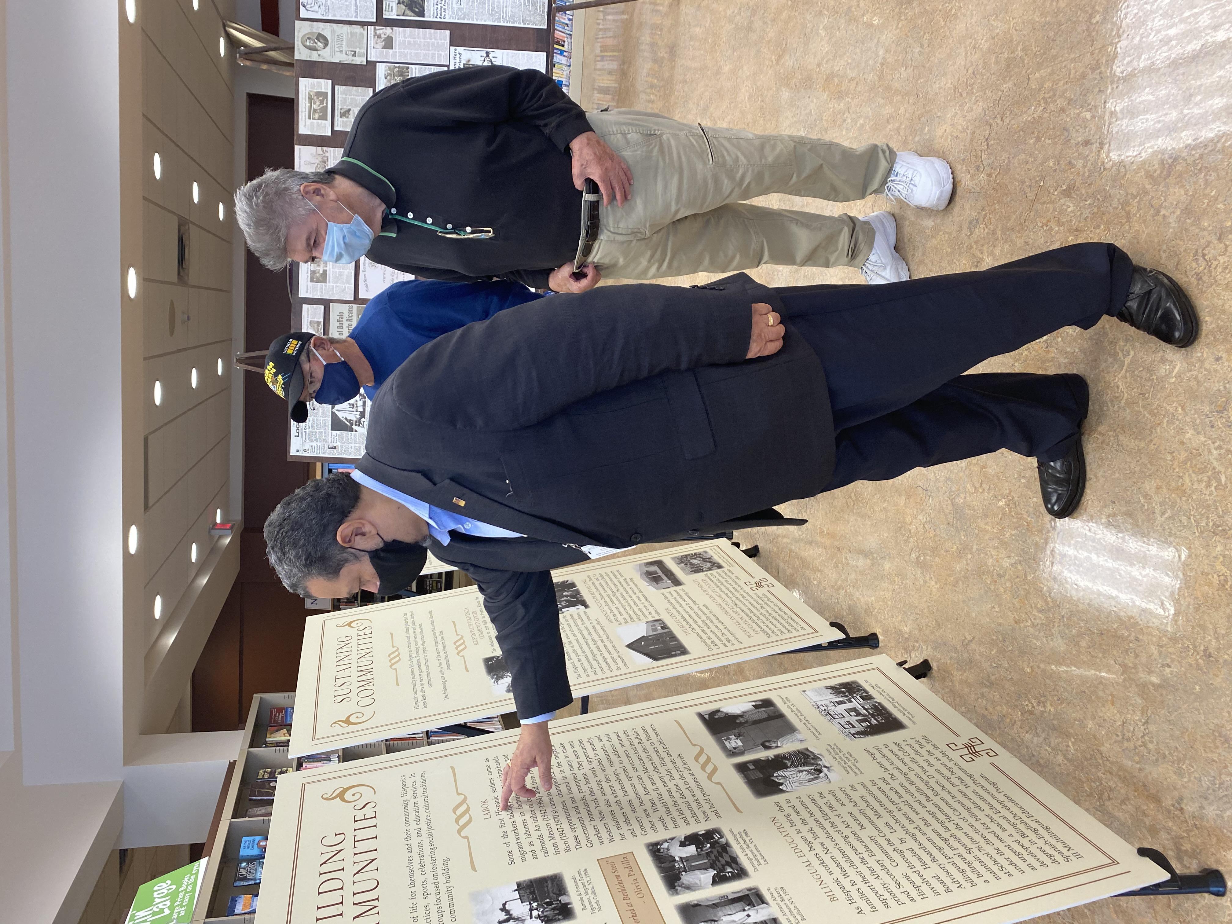Hispanic Heritage Council Showcases History Project At Buffalo Public Library News 4 Buffalo