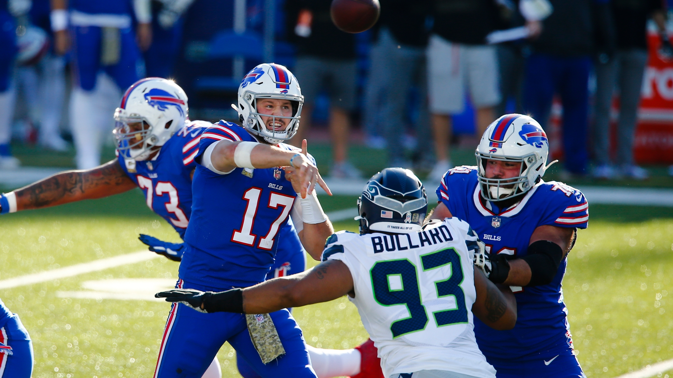 Big Time Turnovers Lift Bills Over Seahawks 44 34 News 4 Buffalo