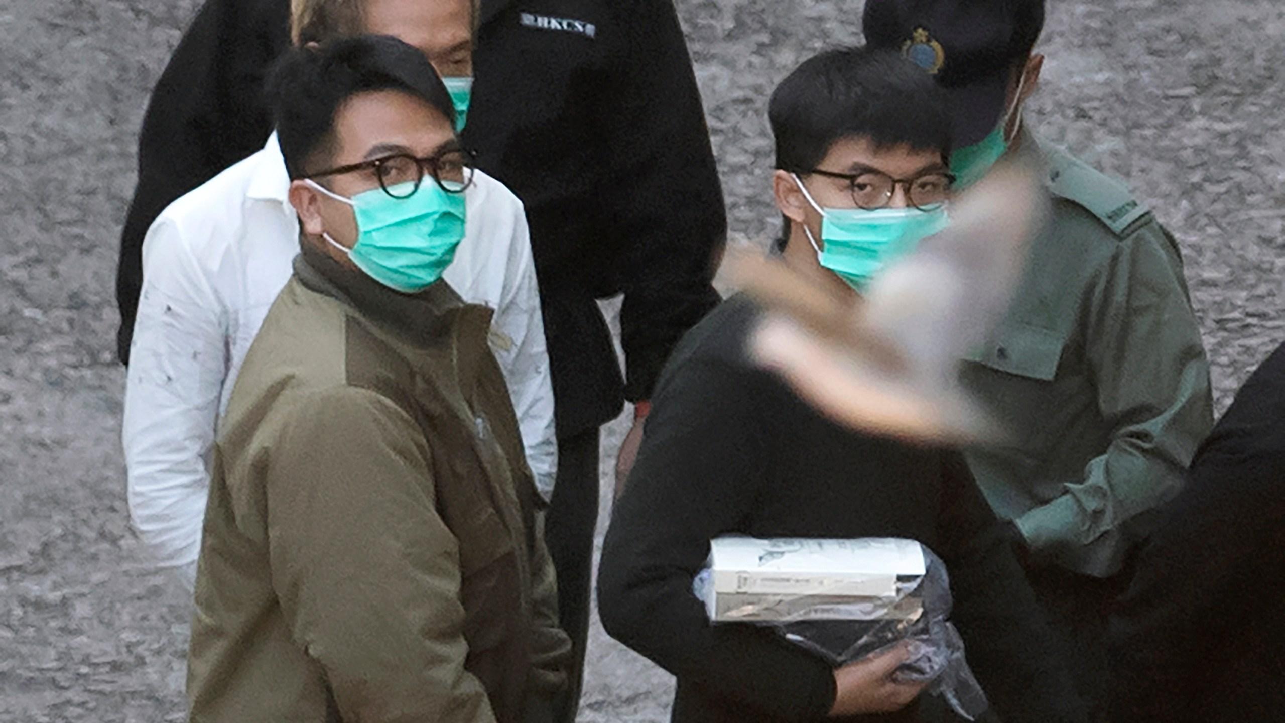Joshua Wong, Ivan Lam