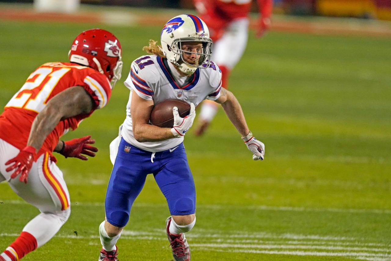 Reports: 5 Bills players, including Cole Beasley, sent home for being unvaccinated close contacts - WIVB.com