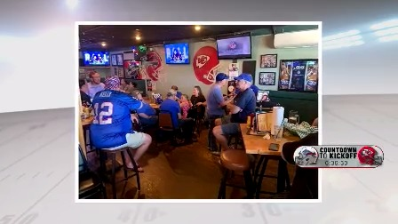 Bills backers find a nice second home for the fans in Kansas City