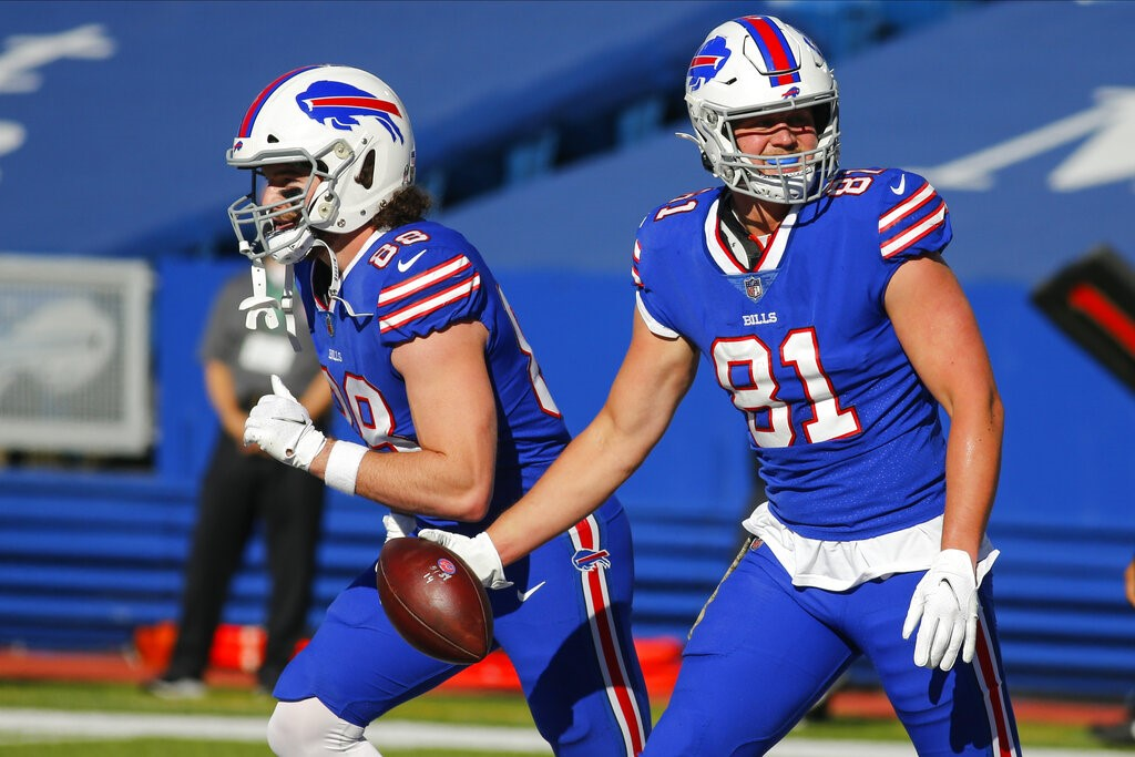 Bills TE Tyler Kroft placed on COVID-19 list   News 4 Buffalo