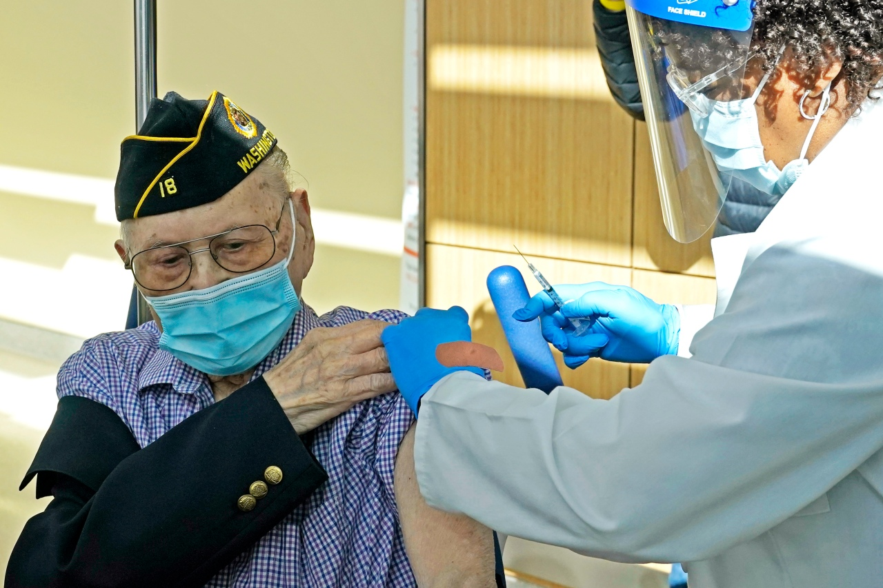 New bill signed into law makes all veterans eligible for COVID-19 vaccine