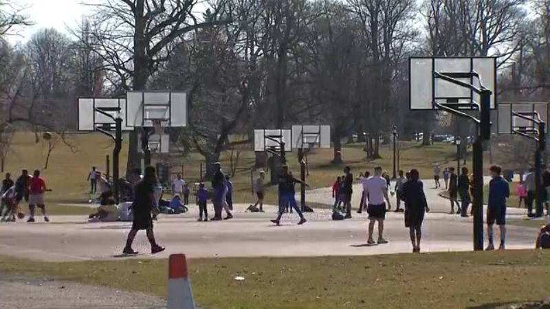City Leaders Urge Residents To Practice Social Distancing At Area Parks And Basketball Courts News 4 Buffalo