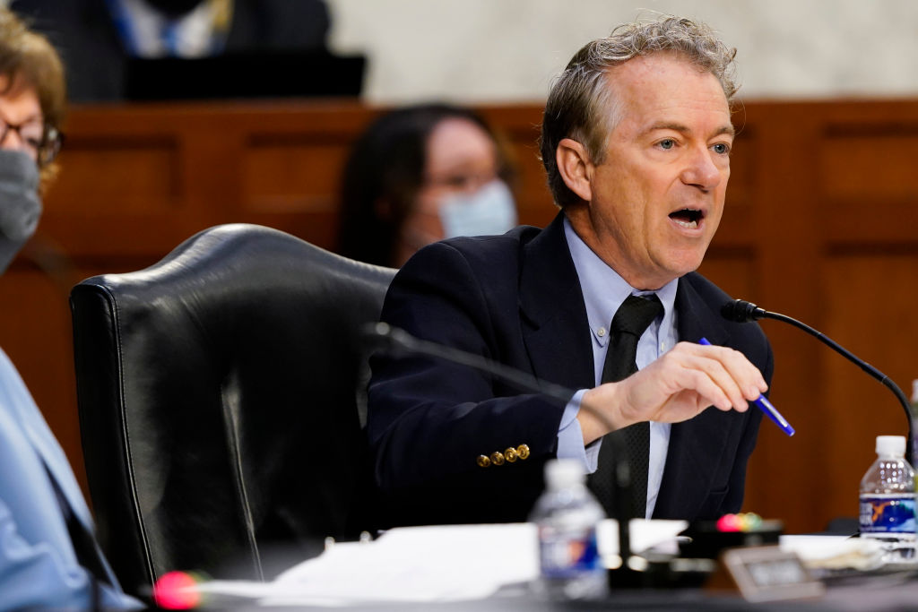 Isn't it just theater?': Rand Paul grills Anthony Fauci over continued mask  use among vaccinated | News 4 Buffalo