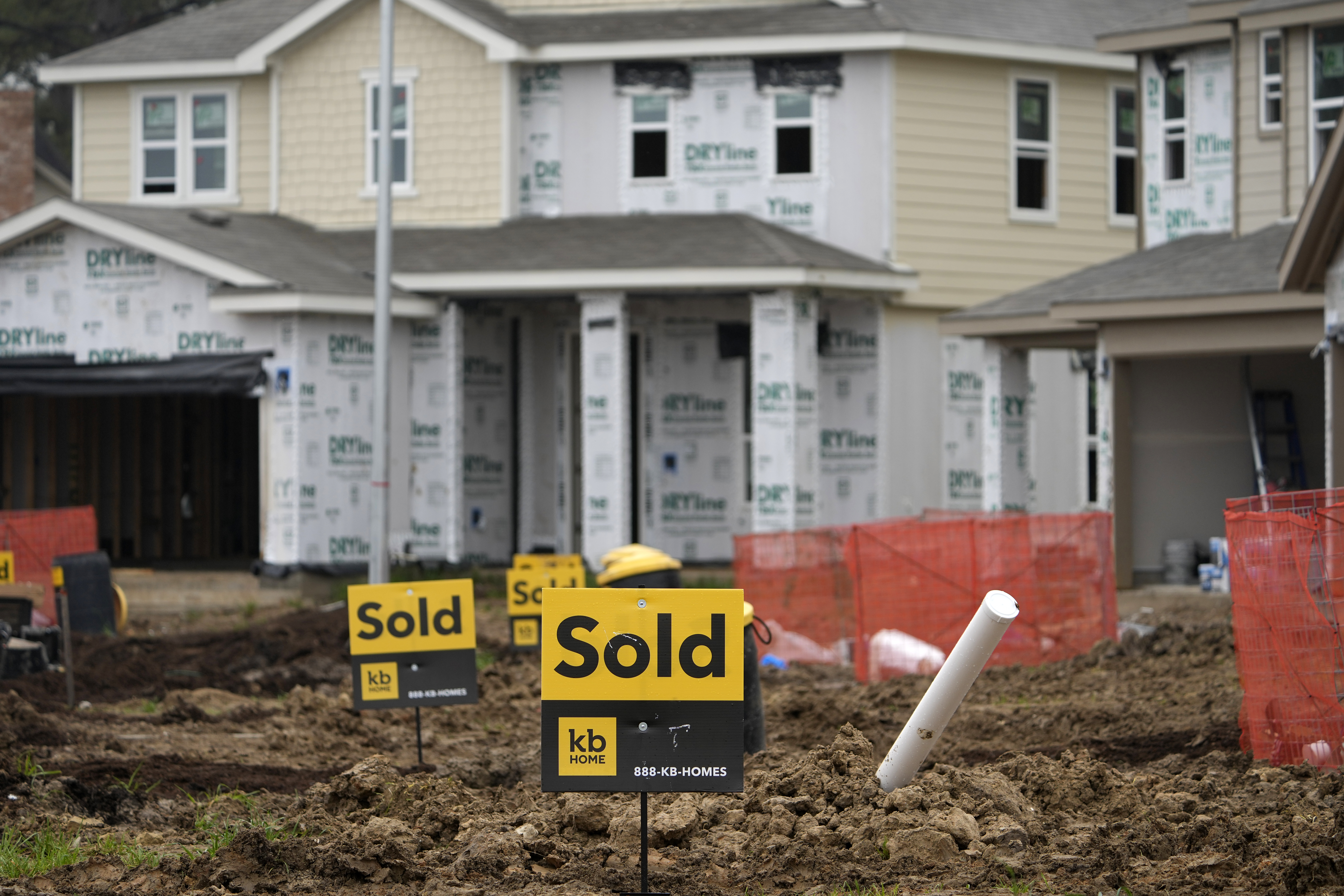 Surprise 5.9% drop in new home sales; prices hit record high