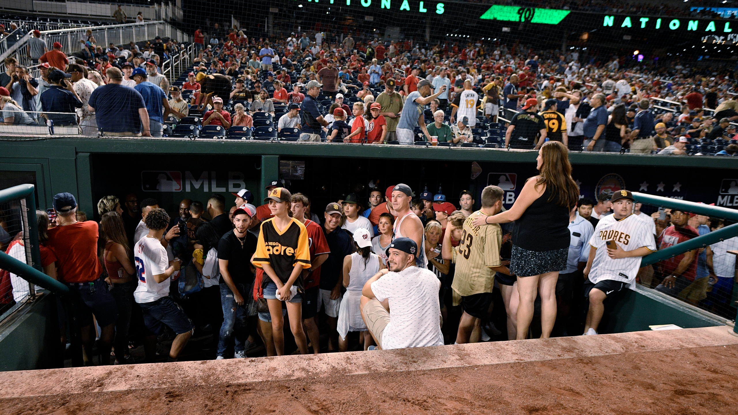 At least 4 people were wounded in a shooting outside Nationals Park that sent players and fans scrambling, police say