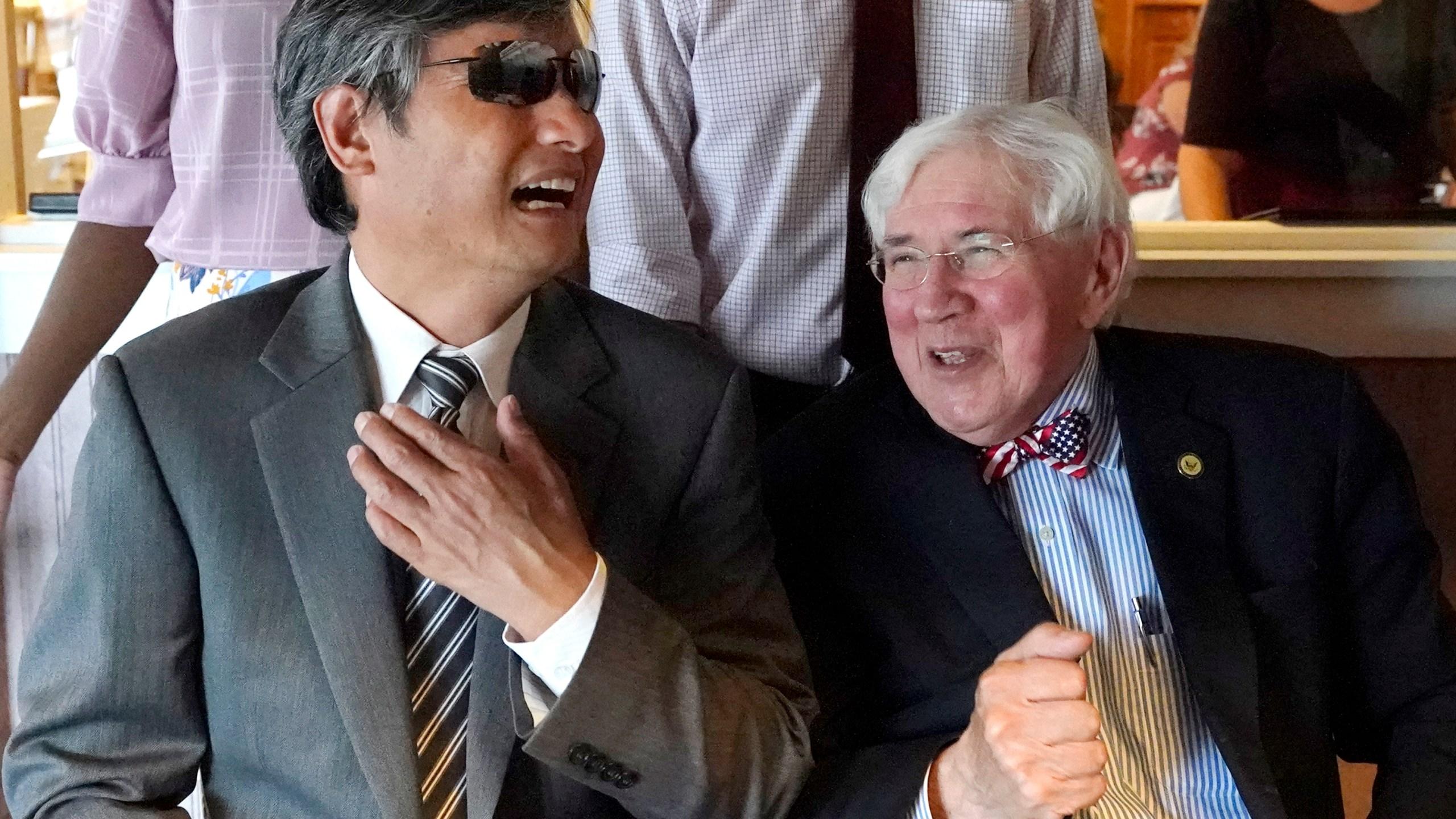 Chen Guangcheng, George Bruno