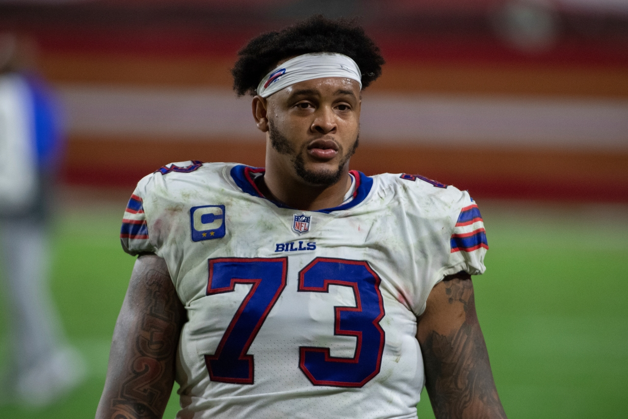 Bills LT Dion Dawkins opens up about being hospitalized for Covid-19 - WIVB.com