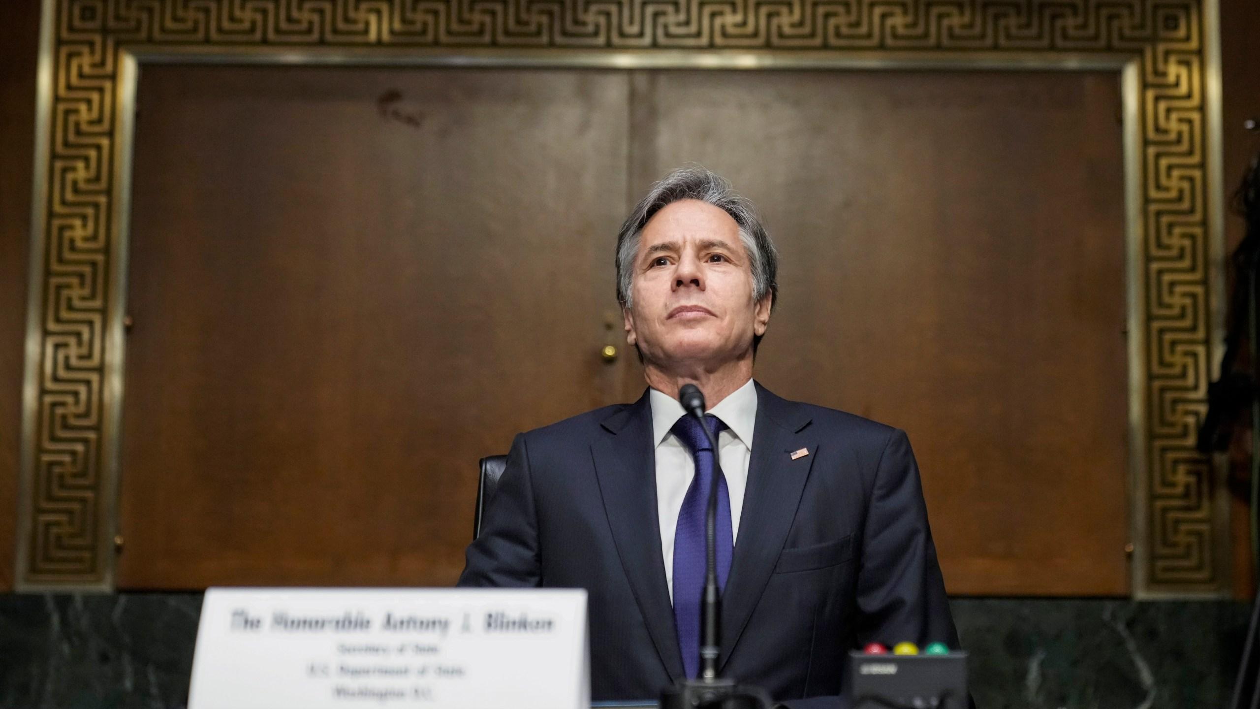 Antony Blinken, Secretary Of State Blinken Testifies Before Senate Foreign Relations Committee